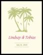Paradise Wedding Label