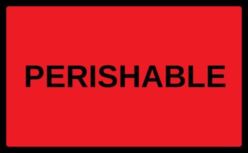 """OL6675 - 5"""" x 3"""" - Perishable"""