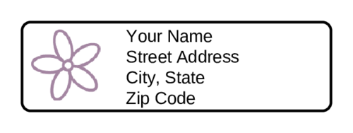 how to sign a return address