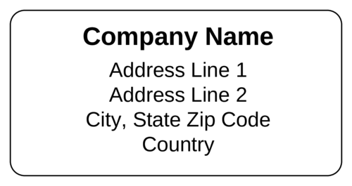 Shipping Label Templates Download Shipping Label Designs – Shipping Label Templates