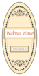 "OL9810 - 3.9375"" x 1.9375"" Oval - Wekiva Wave Oval Beer Bottle Label"