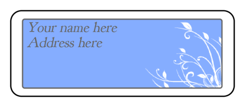 cape cod robin s egg blue wedding address label label templates
