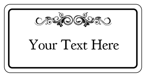 Name Tag Label Templates Hello My Name is Templates – Blank Label Template