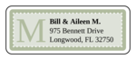 "OL875 - 2.625"" x 1"" - Chesapeake - Pistachio Wedding Address Label"