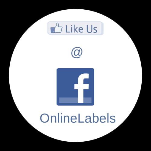 """OL5375 - 2"""" Circle - Facebook Thank You"""