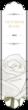 """OL1759 - 7.5"""" x 1.75"""" - Victorian Blanc"""