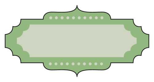 Marquee Label pre-designed label template for OL1762