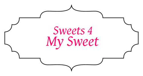 "OL1762 - 3.5"" x 1.75"" - Sweets For My Sweet - Valentine's Day Party Favor Labels"