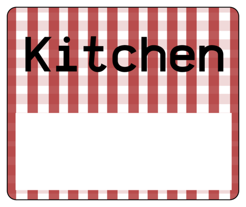 "OL150 - 4"" x 3.33"" - Kitchen Moving Label"
