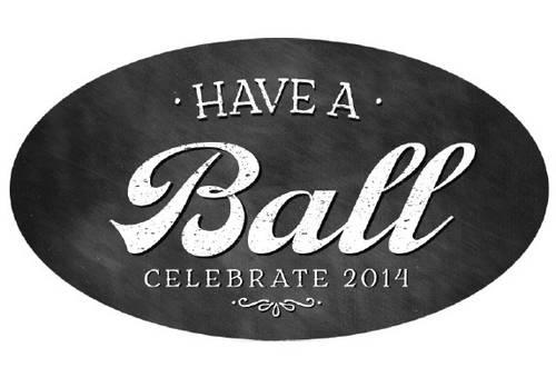 Have A Ball Chalkboard Style 8 Oz 16 Oz Jar Oval Labels Printable