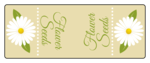 Flower Seeds Candy Labels