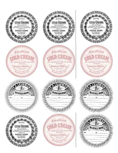 make your own vintage labels label templates ol350