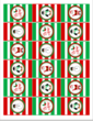 "OL800 - 2.5"" x 1.563"" - Christmas Hershey"