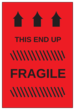 Fragile - This End Up Label