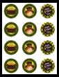 St. Patricks Day Round Stickers