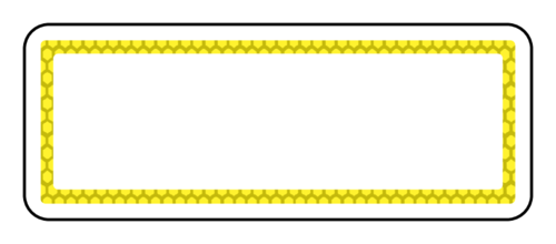 Custom Card Template online lables : Honeycomb Address Label - Label Templates - OL875 ...