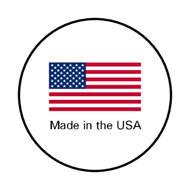 Made in America pre-designed label template for OL1025