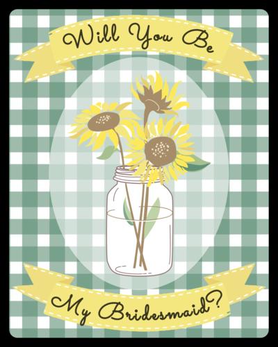 Picnic style bridesmaid wine label label templates for Will you be my bridesmaid wine label template