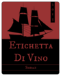 Ship Sailing Wine Bottle Label