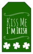 Kiss Me I\'m Irish Gift Tag