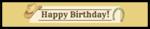 Cowboy Birthday Water Bottle Label