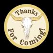 Cowboy Birthday Goody Bag Labels