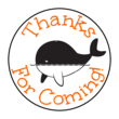 Whale Goody Bag Labels