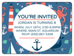 Nautical Birthday Invite