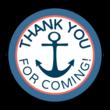 Nautical Birthday Goody Bag Labels