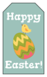 Happy Easter Chick and Egg