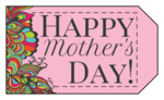"""Happy Mother\'s Day"" Gift Tags"