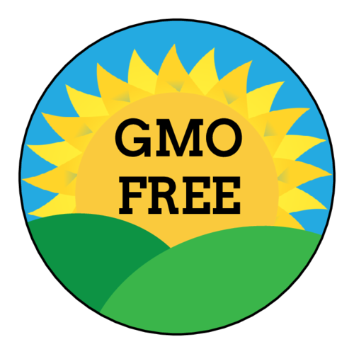 "OL2682 - 2"" Circle - ""GMO Free"" Landscape Food Labels"