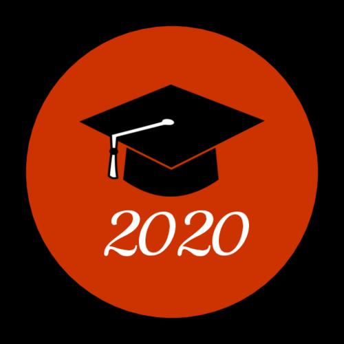 "OL2088 - 1.5"" Circle - School Colors Graduation Envelope Seals"