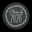 Chalkboard Graduation Envelope Seals