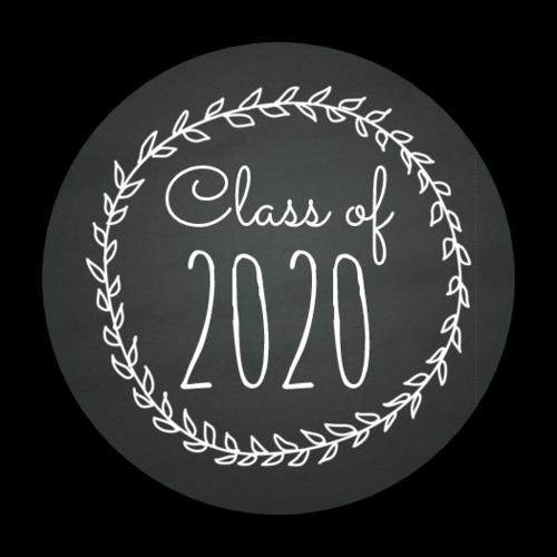 "OL2088 - 1.5"" Circle - Chalkboard Graduation Envelope Seals"