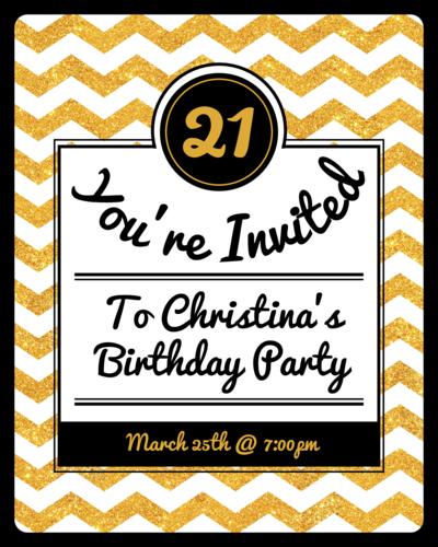 Birthday Label Templates