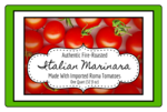 Marinara Sauce Jar Labels