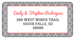 Quatrefoil Address Labels