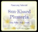 Plumeria Bath and Body Labels