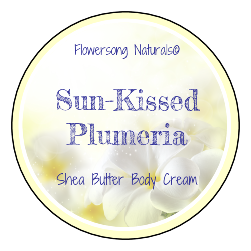 "OL350 - 2.5"" Circle - Plumeria Bath and Body Labels"