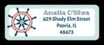 Nautical Return Address Labels