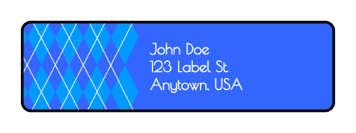 "OL25 - 1.75"" x 0.5"" - Argyle Address Labels"