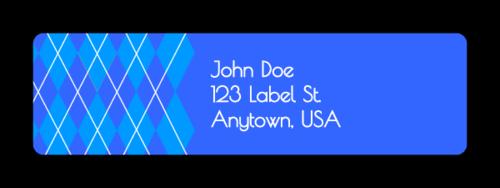 "OL25 - 1.75"" x 0.5"" - Argyle Address Labels"