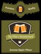 Summer Sippin' Pilsner Traditional Beer Bottle Label