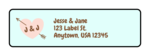 Cute Wedding Address Labels