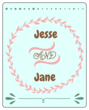 Cute Wedding Wine Bottle Labels