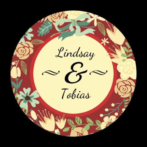 "OL325 - 1.67"" Circle - Florid Wedding Circle Labels"