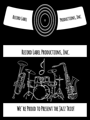 "OL3078 - 3.4999"" x 2.9999"" Beer - Musical Instruments Beer Bottle Label"