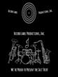 Musical Instruments Beer Bottle Label