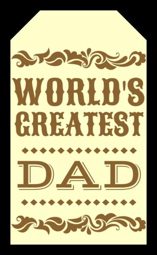 """OL1763 - 1.75"""" x 3"""" - Western Father"""